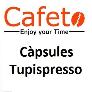 Càpsules de cafè Tupispresso