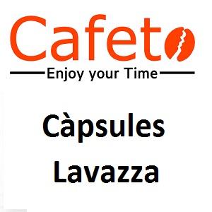 Càpsules de cafè Lavazza